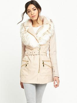 river-island-cream-padded-faux-fur-collar-coat
