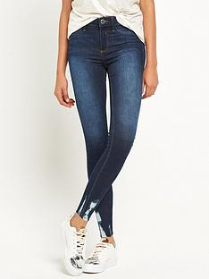 river-island-molly-short-leg-chewed-hem-jean