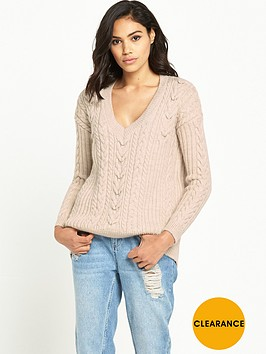 river-island-v-neck-cable-knit-jumper