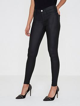 river-island-river-island-molly-mid-rise-coated-skinny-jeans
