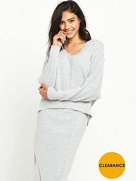 river-island-ribbed-batwing-jumper