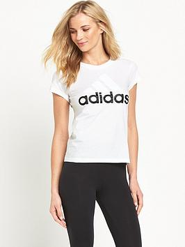 adidas Essentials Linear Tee  2827ee449fe