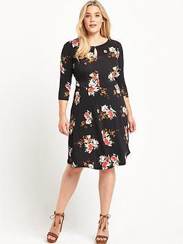 so-fabulous-curve-floral-jersey-tea-dress