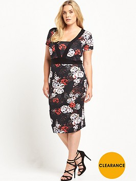 v-by-very-curve-curve-panelled-printednbsppencil-dress-red-floral