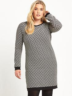 so-fabulous-curve-jacquard-tunic