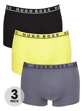 Hugo Boss 3Pk Fashion Trunk