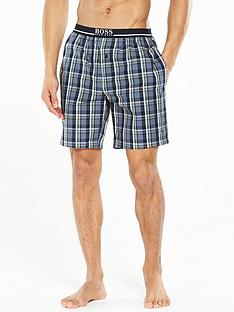 hugo-boss-woven-check-short