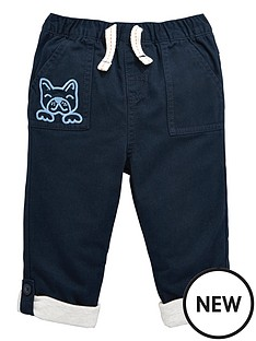 ladybird-baby-boys-woven-turn-up-trousers