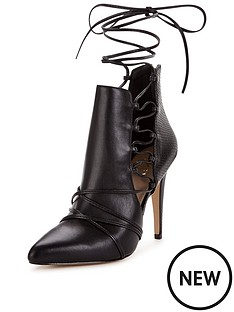 lipsy-caged-side-shoe-boot
