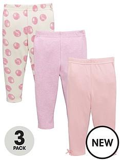 ladybird-baby-girls-3pk-spot-and-marl-leggings