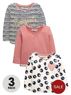 ladybird-baby-girls-spot-and-stripe-long-sleeve-t-shirts-3-pack