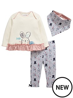 ladybird-baby-girls-bunny-bandana-bib-t-shirt-and-leggings-set