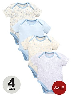 ladybird-baby-boys-blue-bodysuits-4-pack