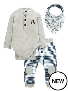 ladybird-baby-boys-scooter-bandananbspbib-bodysuit-and-joggers-set-3-piece