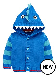 ladybird-baby-boys-hooded-monster-character-cardigan