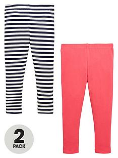 mini-v-by-very-girls-stripe-and-solid-colournbspleggings-2-pack