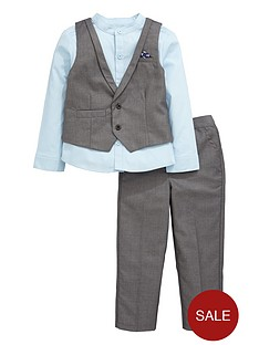 mini-v-by-very-boys-charcoal-and-blue-waistcoat-shirt-and-trousers-occasion-set-3-piece