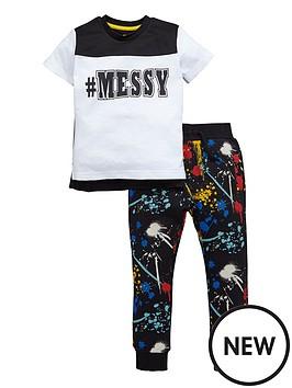 mini-v-by-very-toddler-boys-mmessy-paint-splatter-jogger-set