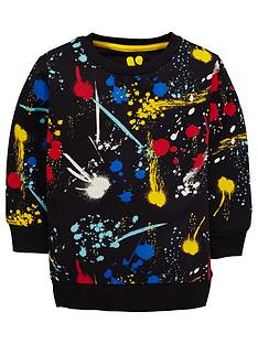 mini-v-by-very-boys-paint-splatter-longline-sweat-top