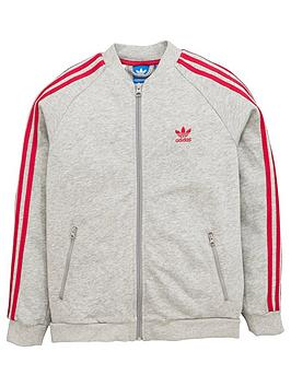 Adidas Originals Older Girls Super Star Track Jacket