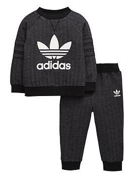 Adidas Originals Adidas Originals Baby Boys Herringbone Crew Suit