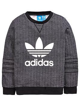 Adidas Originals Adidas Originals Older Boys Herringbone Sweat