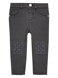 river-island-mini-mini-girls-grey-crochet-jeans