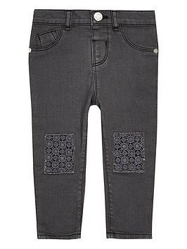 river-island-mini-mini-girls-grey-crochet-jeans