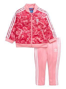 Adidas Originals Adidas Originals Baby Girls Poly Tracksuit