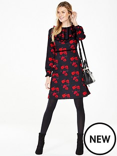 v-by-very-poppy-frill-tea-dress