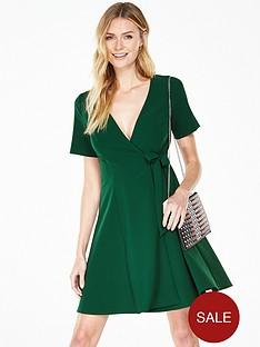 v-by-very-short-sleeve-wrap-dress