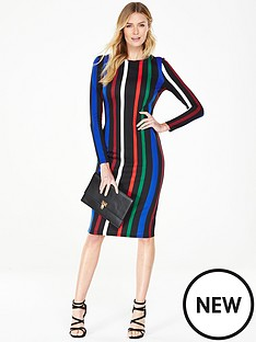 v-by-very-striped-ponte-bodycon-dress