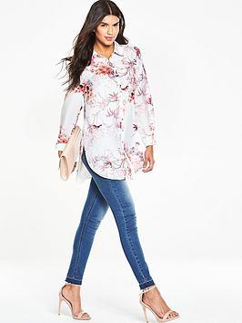 wallis-new-floral-bird-print-shirt