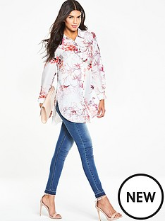 wallis-wallis-new-floral-bird-print-shirt