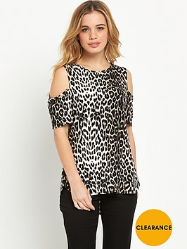 wallis-petite-animal-cold-shoulder