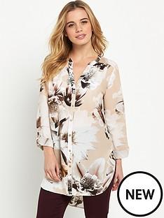 wallis-petite-orchid-shirt