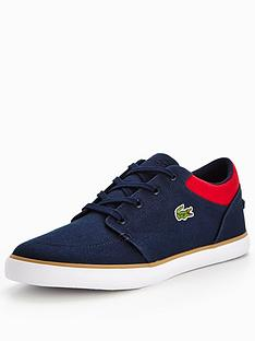 lacoste-lacoste-bayliss-116-2-plimsoll-navyred