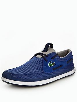 Lacoste Lacoste L.Andsailing 117 1 Boat Shoe  Dk Blue