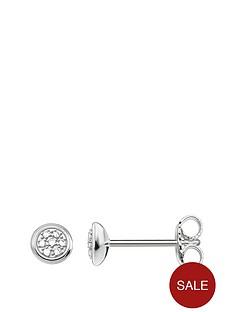 thomas-sabo-sterling-silver-diamond-set-stud-earrings