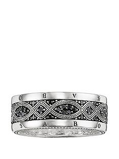 thomas-sabo-sterling-silver-cubic-zirconia-mens-logo-ring