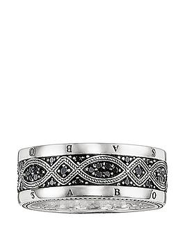 thomas-sabo-sterling-silver-cubic-zirconia-mens-logo-ring
