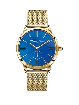 thomas-sabo-glam-spirit-blue-dial-gold-tone-mesh-bracelet-ladies-watch