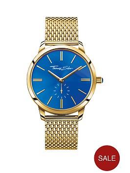 thomas-sabo-glam-spirit-blue-dial-gold-tone-mesh-bracelet-ladies-watch