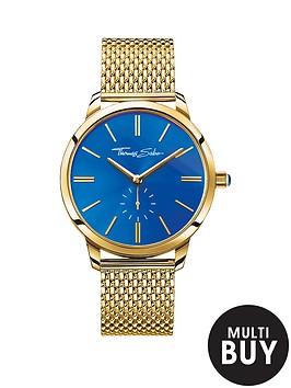 thomas-sabo-glam-spirit-blue-dial-gold-tone-mesh-bracelet-ladies-watchnbspplus-free-diamond-bracelet