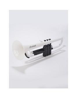 ptrumpet-plastic-trumpet-white