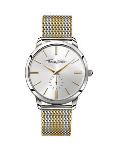 thomas-sabo-rebel-spirit-silver-tone-dial-two-tone-gold-mesh-mesh-bracelet-mens-watch
