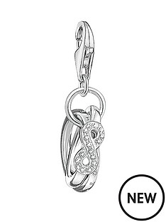 thomas-sabo-sterlingnbspsilver-cubic-zirconianbspinfinity-charm