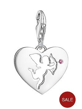 thomas-sabo-sterling-silver-cupid-charm