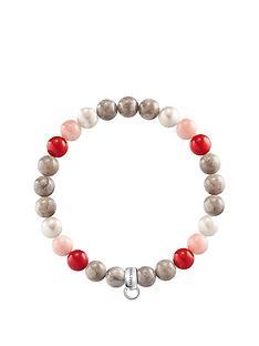 thomas-sabo-thomas-sabo-semi-precious-bead-pink-and-red-mix-stretch-charm-bracelet