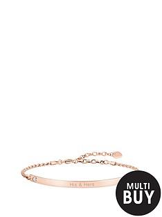 thomas-sabo-love-bridge-sterling-silver-rose-gold-plate-cubic-zirconia-heart-personalised-braceletnbspplus-free-karma-bead-bracelet